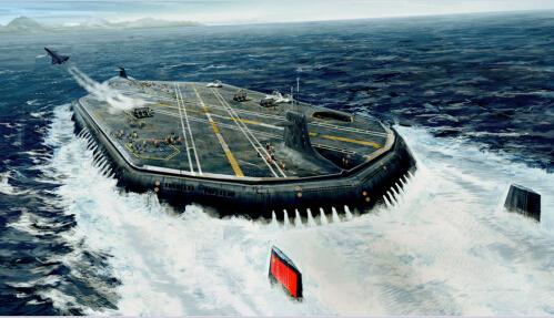 """虽然世界上第一艘核动力航母""""企业""""号上的动力装置由"""